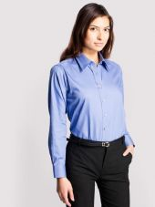 UC703 Ladies Pinpoint Oxford Full Sleeve Shirt